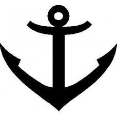 Anchor Decal Sticker 01