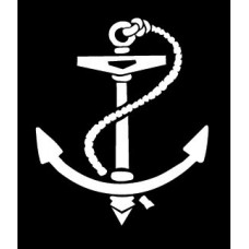 Anchor Vinyl Boating Navel Decal