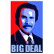 Anchorman Big Deal Sticker