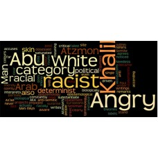 angry against racism sticker