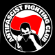 anti fascist fighting club sticker