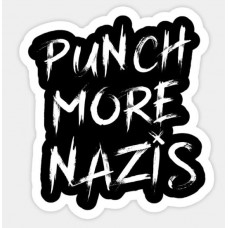 ANTI NAZI STICKER