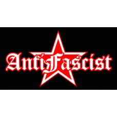 Anti Fascist Red Star STICKER