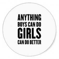 anything_boys_can_do_girls sticker