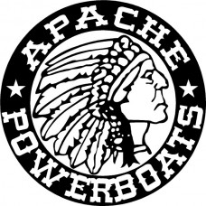 Apache Powerboats Decal Die Cut Sticker 03