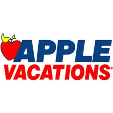 apple vacations logo sticker