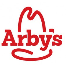 ARBYS FAST FOOD LOGO STICKER