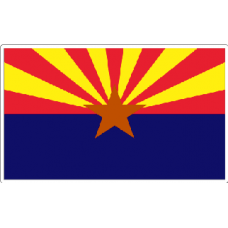 Arizona State Flag Decal