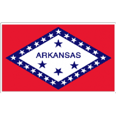 Arkansas State Flag Decal