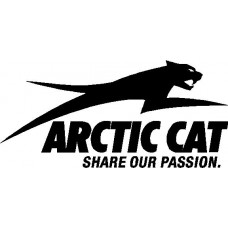 Artic Cat share our passion funny auto decal