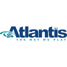 atlantis logo sticker