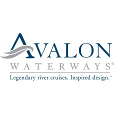 Avalon Waterways logo sticker