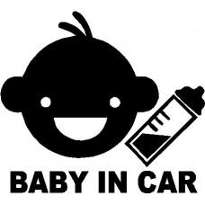 Baby in Car Design Car Sticker Car Decal 3