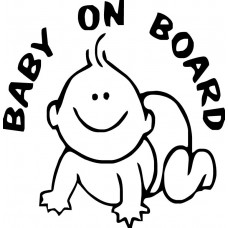 Baby on Boad Decal