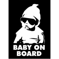 Baby On Board 44 Diecut Decal