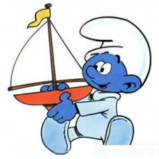 Baby Smurf Color Sticker 1
