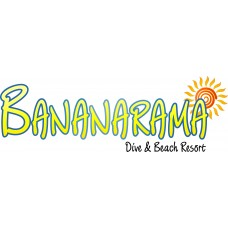 BANANARAMA BEACH RESORT CRUISE STICKER