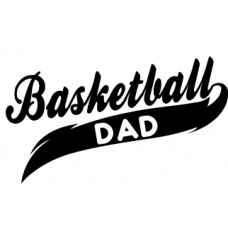 Basketball Dad Sport Spirit Decal