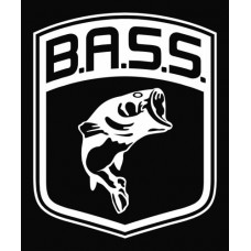 Bass Logo Fish Largemouth Die Cut Vinyl Decal Sticker