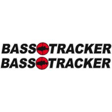Bass Tracker Logo Stickers PAIR