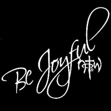Be Joyful Religious Decal