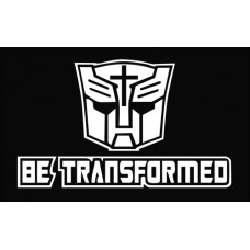 Be Transformed Die Cut Vinyl Decal Sticker
