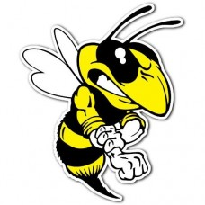 Bee Hornet Sticker