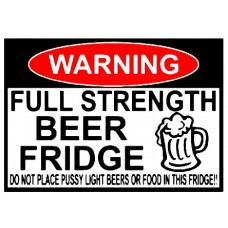 beer fridge sticker set