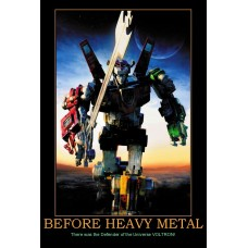 before heavy metal form the head demotivational
