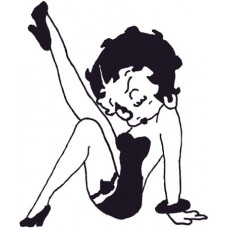Betty Boop Decal 4