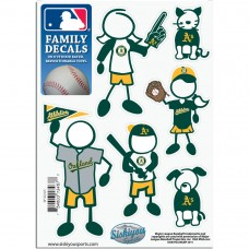 Athletics Stick Family Decal Pack