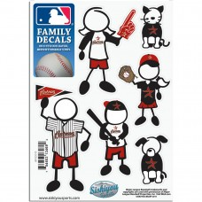 Astros Stick Family Decal Pack