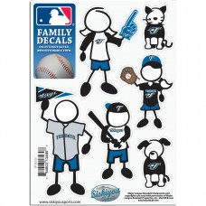 Blue Jays Stick Family Decal Pack