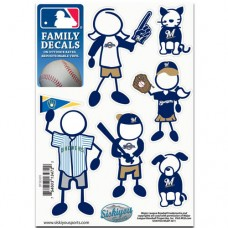 Brewers Stick Family Decal Pack