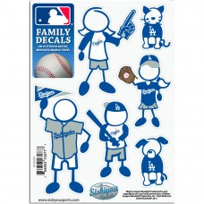 Dodgers Stick Family Decal Pack