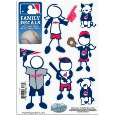 Indians Stick Family Decal Pack