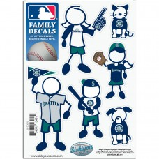 Mariners Stick Family Decal Pack