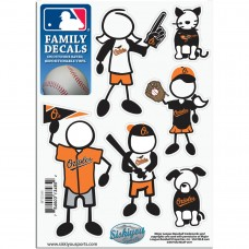 Orioles Stick Family Decal Pack