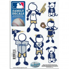 Padres Stick Family Decal Pack