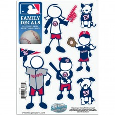 Nationals Stick Family Decal Pack