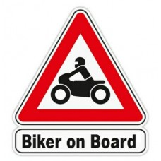 Biker On Board Sticker Pack