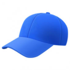 billed-cap emoji