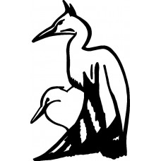Bird Birds Animal Animals Vinyl Decal Sticker 02