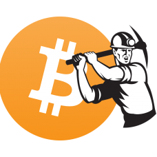 Bitcoin-Mining sticker