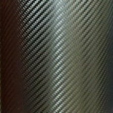 Carbon Fiber Adhesive Vinyl Sheet Decal BLACK