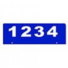 C - 6x18 Bottom Mount Reflectice Address Sign