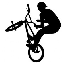 BMX Vinyl Car Decal