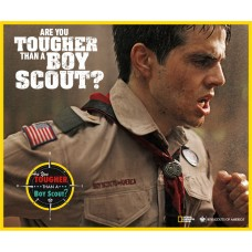 boy scout are you tougher than Sticker