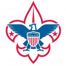 boy scout logo RWB sticker