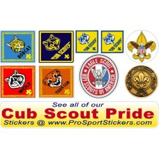 boy scout PINEWOOD DERBY decal pack 1